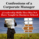 Confession of Corporate Manager